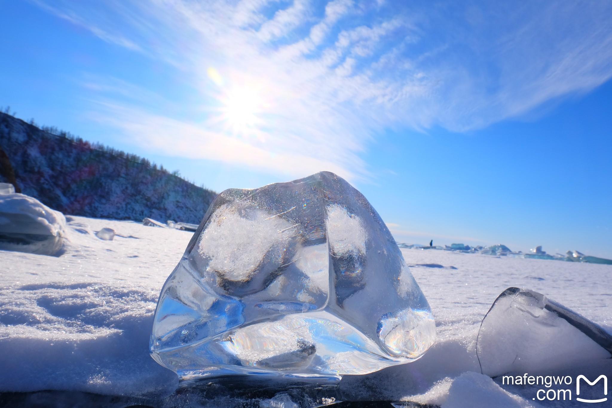 隆冬 在北纬52度的冰封贝加尔湖 Refresh Myself~~~